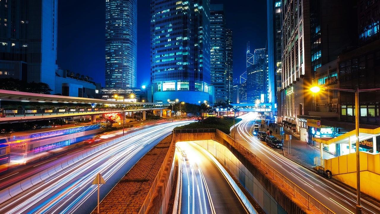 MBA Fernstudium Karriere Hong Kong Srtaße Gebäude