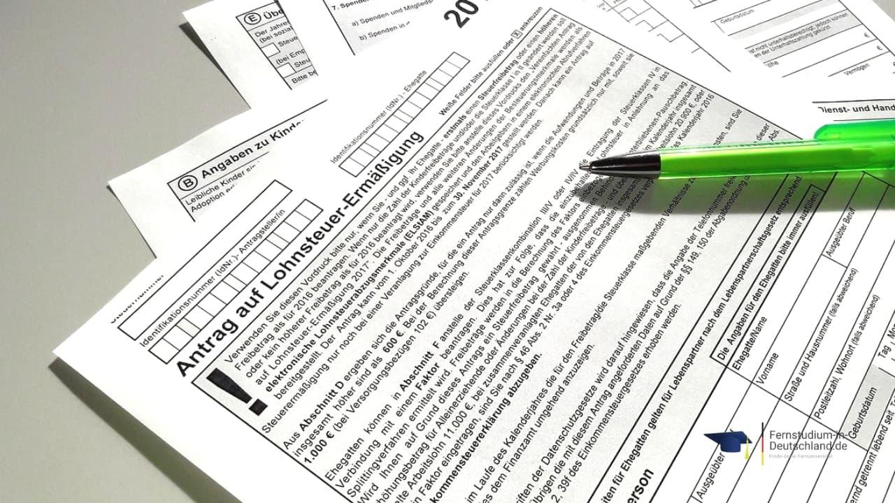 Bachelor Fernstudium Steuern absetzen